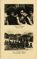 369 - Océanie - PAPOUASIE /  NOUVELLE- GUINEE - TYPES DE LA MONTAGNE Circulée En 1939 - Papoea-Nieuw-Guinea