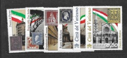 2011 MNH Vaticano Mi 1690-5 - Unused Stamps