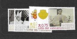 2011 MNH Vaticano Mi 1712-15 - Unused Stamps