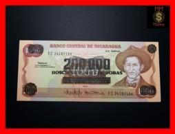 NICARAGUA 200.000 200000 Cordobas 1990 P. 162  UNC - Nicaragua