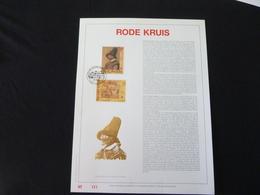 "BELG.1993 2489/2490 Filatelic Gold Card NL. 121/500 Exemp. : "" RODE KRUIS "" - FDC"
