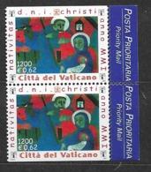 2001 MNH Vaticano Mi 1391 From Booklet - Vatican