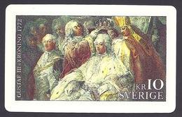 Sweden - Gustav III:s Kroning 1772 - Sweden Post Stamps Customer Card - Suecia