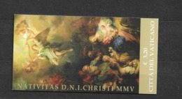 2005 MNH Vaticano Mi 1542  Booklet - Booklets