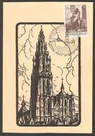 BELGIQUE Carte Maximum ANVERS 1971 - 1971-1980