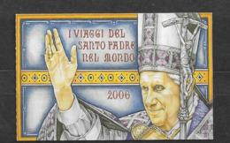 2007 MNH Vaticano Mi 1596  Booklet - Booklets