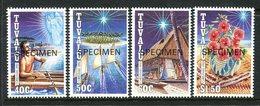 Tuvalu 1992 Christmas - SPECIMEN - Set MNH (SG 660-663) - Tuvalu