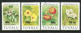 Tuvalu 1993 Flowers Set MNH (SG 664-667) - Tuvalu