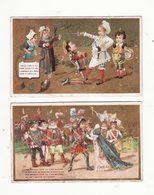 Chromo   PARIS VOLTAIRE    Lot De 2    Malbrough, Don Quichotte - Sonstige