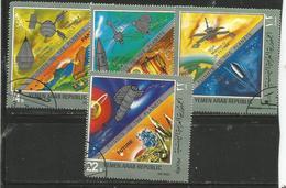 Yemen (YAR)  - 1969 Space Travel CTO - Jemen