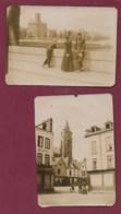 280520 - 2 PHOTOS ANCIENNES - 80 AMIENS Place Boucherie - Amiens