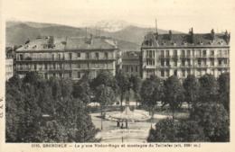 E 0393 - Grenoble (38) La Place Victor Hugo - Grenoble