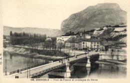 E 0394 - Grenoble (38) Pont De France Et Montagne Du Néron - Grenoble