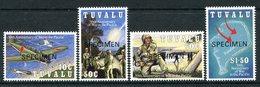 Tuvalu 1993 50th Anniversary Of War In The Pacific - SPECIMEN - Set MNH (SG 668-671) - Tuvalu (fr. Elliceinseln)