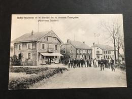 Cpa 1900/1920 Nouveau Saales Hôtel Mazeran Et Bureau De La Douane - France