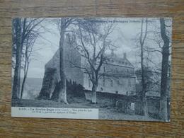 Ploëzal , Château De La Roche-jagu , Vue Prise Du Bois Au Fond à Gauche On Aperçoit Le Trieux - Ploëzal