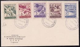 Yugoslavia, 1950, Rume, Aeronautique Airplanes, FDC - 1945-1992 République Fédérative Populaire De Yougoslavie