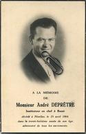 André Depretre :  Nivelles 1926 - 1964        ( See Scans ) - Andachtsbilder