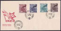 Yugoslavia, 1952, Comunist Party Congress, FDC - 1945-1992 République Fédérative Populaire De Yougoslavie