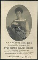 IDA Delalieux  :  Nivelles 1897 -1920       ( See Scans ) - Andachtsbilder