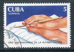 Y85 CUBA 1988 3250 International Year Of Literacy - Gebruikt