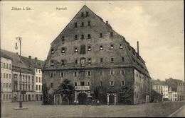 Cp Zittau In Der Oberlausitz, Blick Auf Den Marstall, Stadtansicht, Straßenpartie - Otros