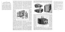 NOUVEAUTES PHOTOGRAPHIQUES  ( Detective CADOT /JUMELLE BRETON / VISEUR-DECENTREUR  M.GAUMONT  )  1899 - Photographie