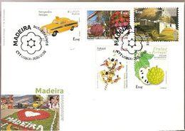 Portugal  & FDC Self-Adhesives, Madeira, 2020 (8424) - Sellos