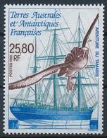 TAAF  -  1995  ,  Segelschiff Tamaris , Graukopfalbatros - French Southern And Antarctic Territories (TAAF)