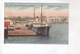 CPA DAKAR, LES QUAIS - Senegal
