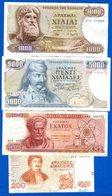 Grèce  9  Billets - Grecia