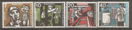 BDP 1957 Yv N° 142 à 145  Mi N° 270 à 273,  ** MNH  Mineurs  Cote 25 Euro TBE - Nuovi