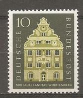 BDP 1957 Yv N° 150  Mi N° 279  ** MNH Diète Du Wurtemberg  Cote 1,1 Euro TBE - Nuovi