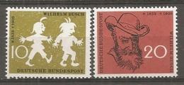 BDP 1958 Yv N° 153,154  Mi N° 281,282  ** MNH Dessinateur Busch  Cote 1,3 Euro TBE - Nuovi