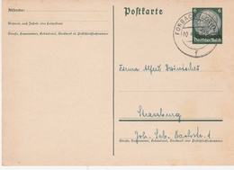 France Lorraine Occupation Allemande Entier Postal Forbach 1941 - Marcophilie (Lettres)