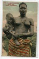 NU Ethnic NUDE 1645  Fortier Etude No 248 Femme Dahoméenne Scarifications  Poitrine  Nu Avec Bébé  E 1910    D09  2020 - Afrique Du Sud, Est, Ouest