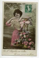 85 De L'AIGUILLON Sur MER Je Vous Envoie Ces Fleurs écrite Timbrée   D09 2020 - Frankreich