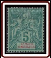 Sainte-Marie De Madagascar - N° 04 (YT) N° 4 (AM) Neuf *. - Neufs