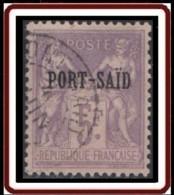 Port-Saïd - N° 18 (YT) N° 14 (AM) Type II Oblitéré. - Puerto Said (1899-1931)