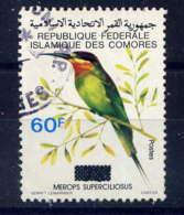 COMORES - 340° - MEROPS SUPERCILIOSUS - Comores (1975-...)