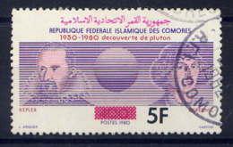 COMORES - 353° - DECOUVERTE DE LA PLANETE PLUTON - Comores (1975-...)