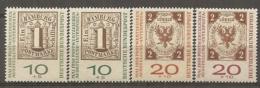 BDP 1959 Yv N° 181 à 184 Mi N° 310,311 A Und B  ** MNH    Cote 3 Euro TBE - Nuovi