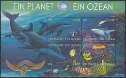 UNO Wien MiNr. Bl. 26 ** Ein Planet, Ein Ozean - Otros - Europa