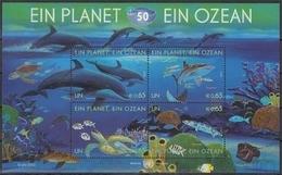 UNO Wien MiNr. Bl. 27 ** Ein Planet, Ein Ozean - Otros - Europa