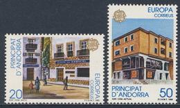 Andorra Spanish Post 1990 Mi 214 /5 YT 204 /5 Sc 205 /6 SG 215 /6 ** Post Office Buildings / Postalische Einrichtungen - Post