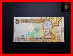TURKMENISTAN 5 Manat 2012 P. 30   UNC - Turkménistan