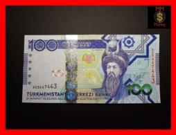 TURKMENISTAN 100 Manat 2014 P. 34   UNC - Turkménistan