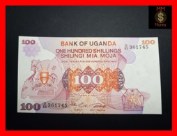 UGANDA 100 Shillings 1982 P. 19 B  UNC - Oeganda