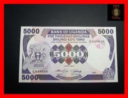 UGANDA 5.000 5000 Shillings 1986 P. 24 B  UNC - Oeganda