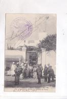 CPA  CASABLANCA, ENTREE DU CONSULAT DE FRANCE! (voir Tampon Militaire) - Casablanca